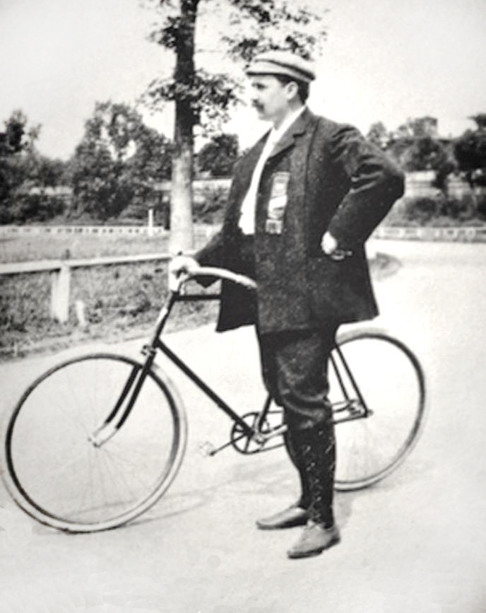 L'Histoire d'Indian - The Vintagent , the Early History of Indian (Part 1) George M. Hendee, Bicycle Race Legend Early-11