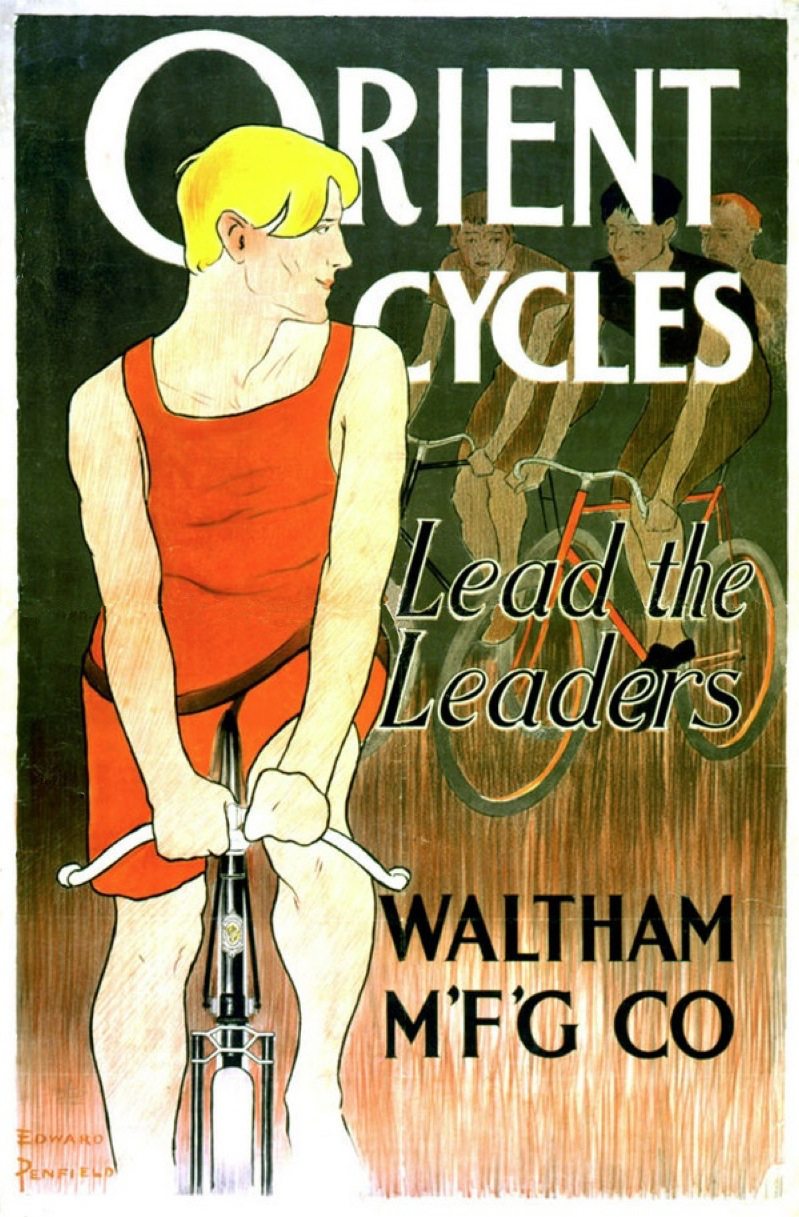 L'Histoire d'Indian - The Vintagent , the Early History of Indian (Part 1) George M. Hendee, Bicycle Race Legend Early-13