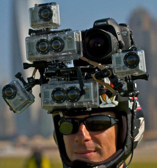 FILMER EN RM / Fixations GoPro sur moto, Support caméra, accessoire vidéo Gopro-10