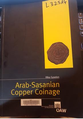 Las monedas de cobre Árabe-Sasánidas. Libro_10