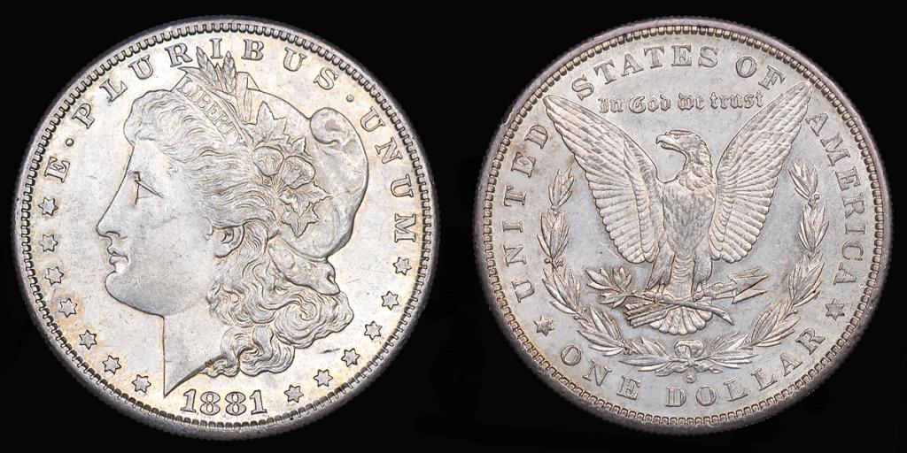 Colección de dólares Morgan. Todas las cecas. San_fr10