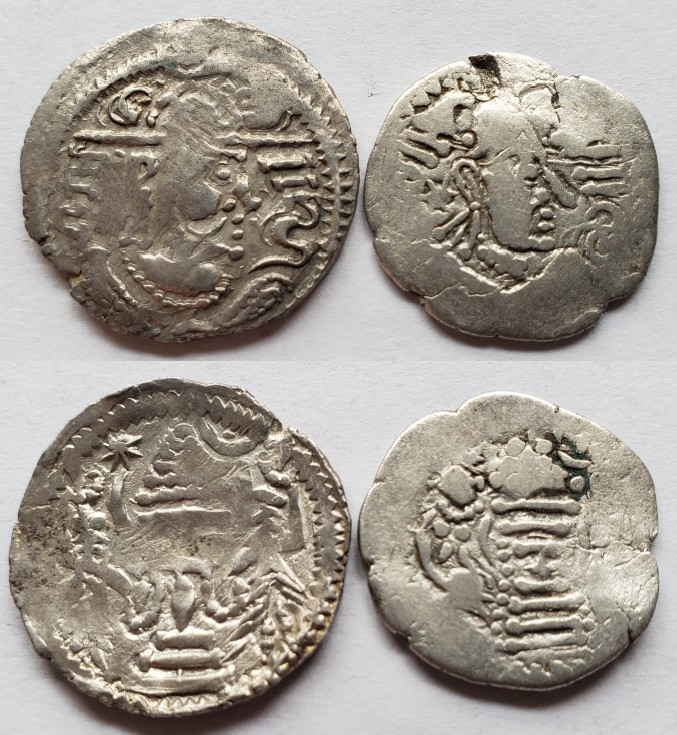 Dracma Indo-sasánida Serie_12
