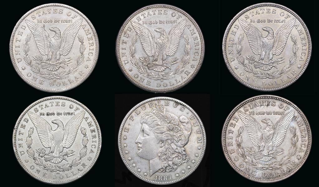 Colección de dólares Morgan. Todas las cecas. Todas_10