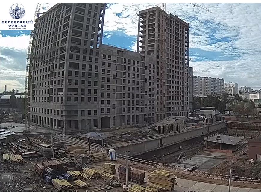 Веб-камеры на площадке строительства ЖК «Серебряный фонтан»  - Страница 6 1_10_e10