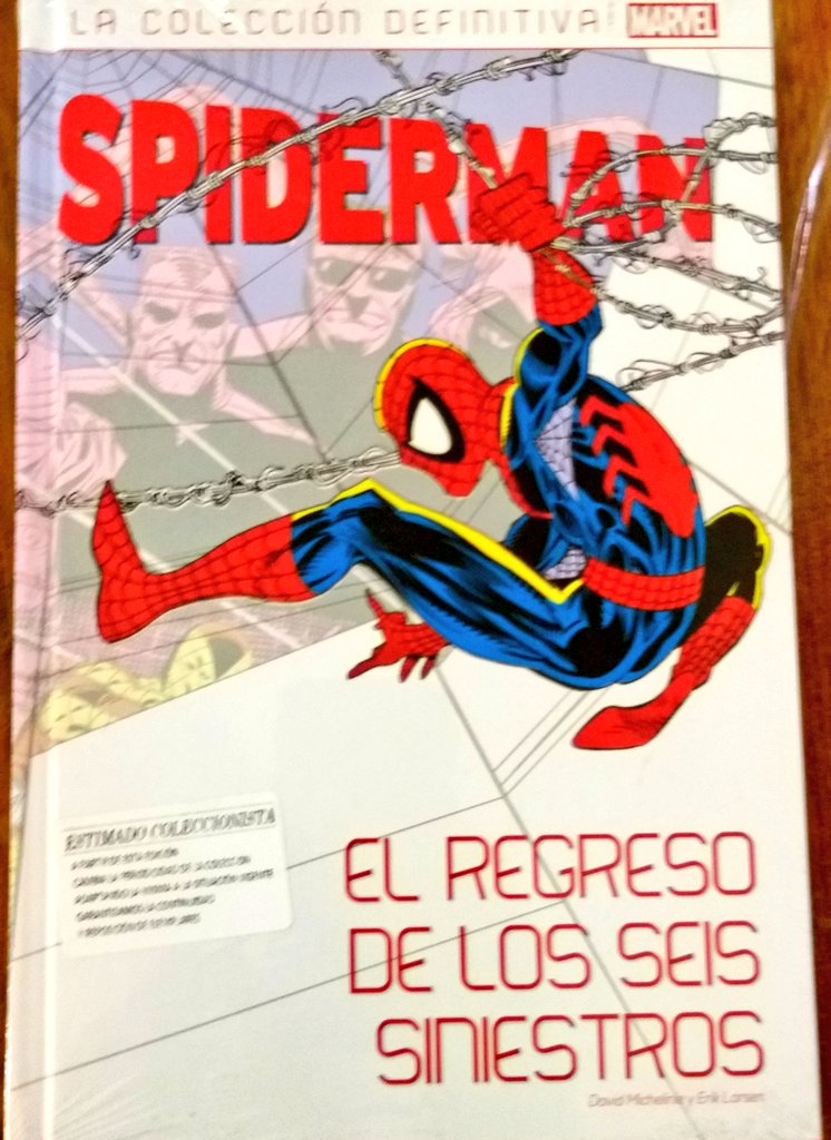 1-5 - [Marvel - SALVAT] SPIDERMAN La Colección Definitiva en Argentina - Página 6 Ewjqf310