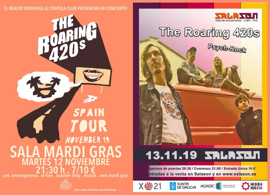 THE ROARING 420s ☆ En gira noviembre 2019 0113