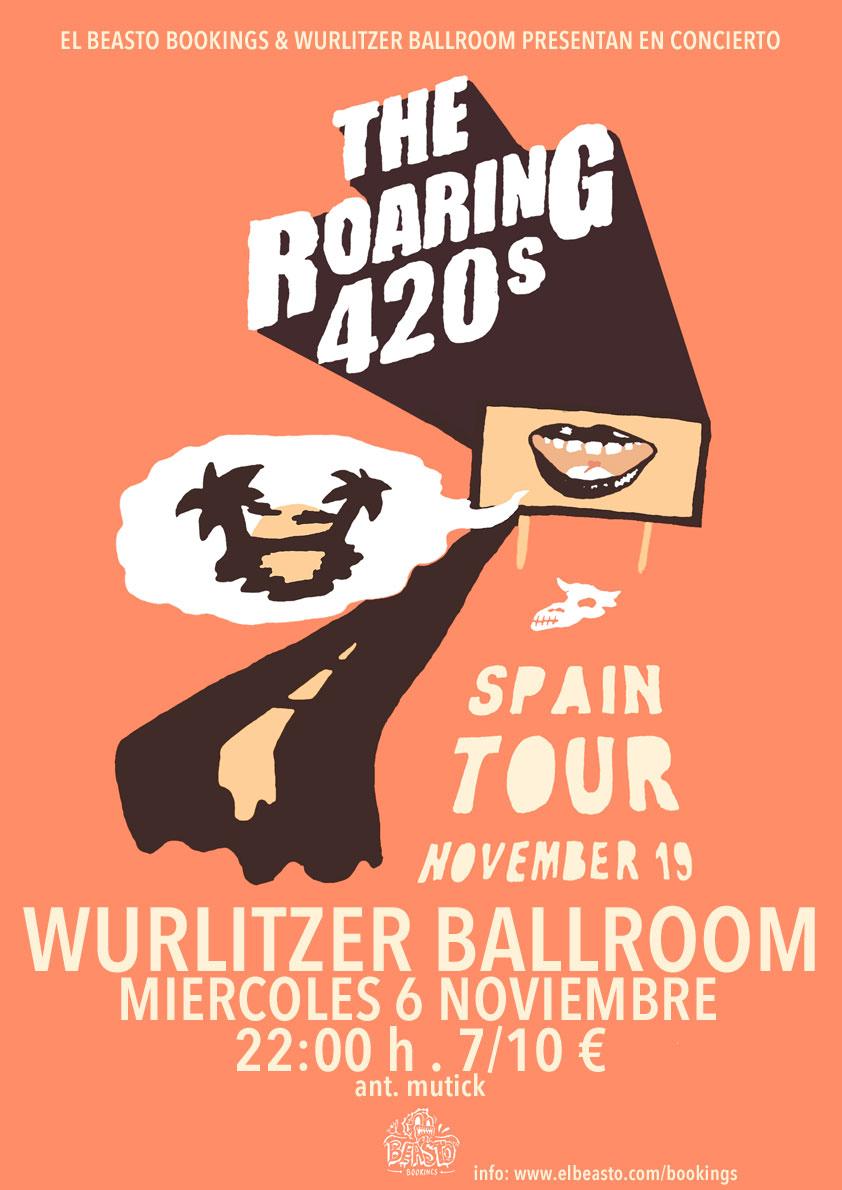 THE ROARING 420s ☆ En gira noviembre 2019 Cartel50