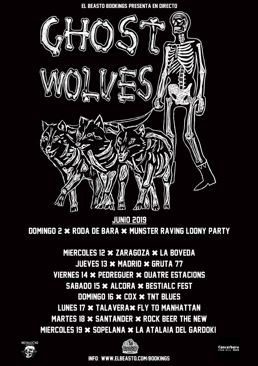THE GHOST WOLVES ☆ Junio 2019 Promow43