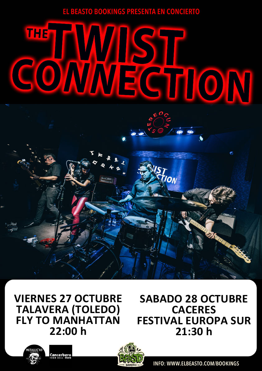 THE TWIST CONNECTION ☆ Talavera y Cáceres septiembre 2019 Promow50