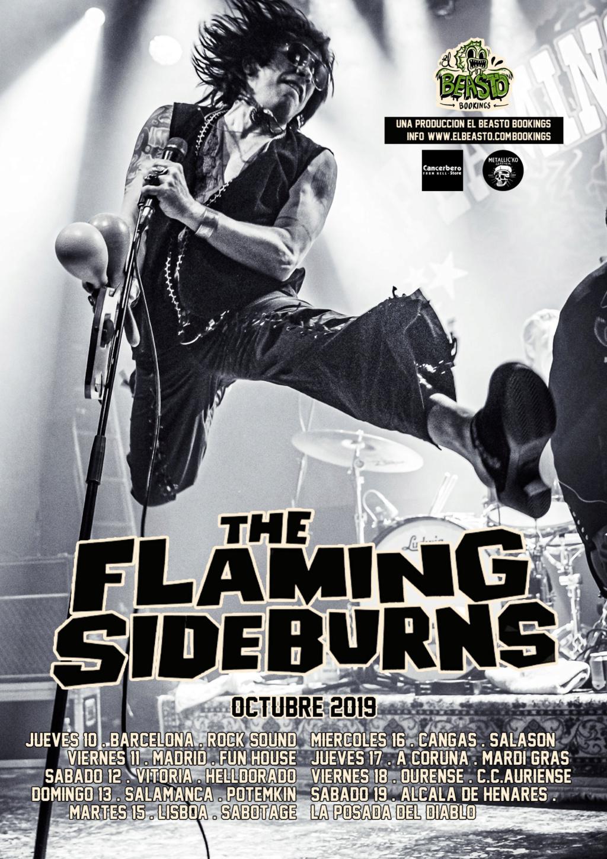 THE FLAMING SIDEBURNS ☆ En gira octubre 2019 Promow52