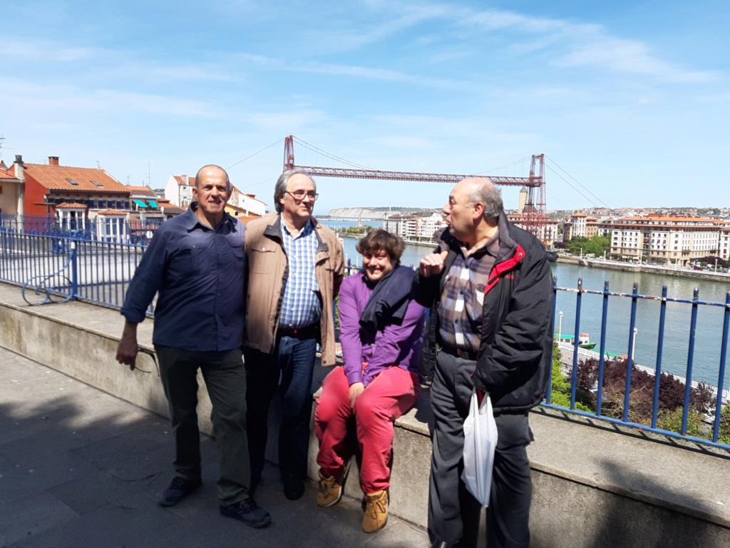 Rindiendo una visita a Portugalete 20190410