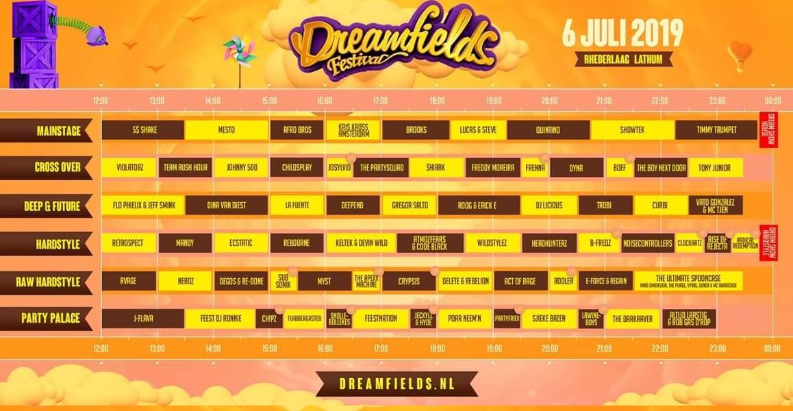 DREAMFIELDS FESTIVAL - samedi 6 Juillet 2019 - Recreatieterrein Rhederlaag, Lathum - NL Dreamf10