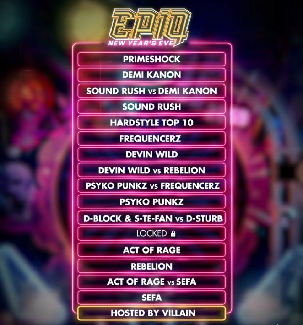 EpiQ  - The New Year's Eve 2019 - 31 Décembre 2019 - Ziggo Dome - Amsterdam - NL Epiq_l10