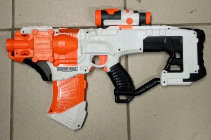 [WIP] Réalisation d'un pistolet arcade à partir d'un pistolet Nerf Img_2098
