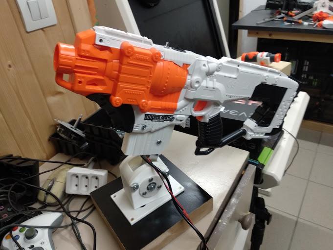 [WIP] Réalisation d'un pistolet arcade à partir d'un pistolet Nerf Img_2101