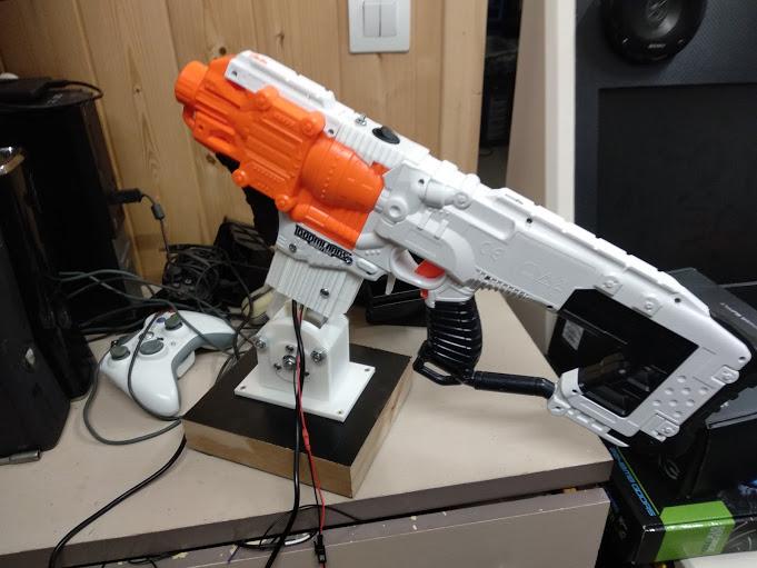 [WIP] Réalisation d'un pistolet arcade à partir d'un pistolet Nerf Img_2102