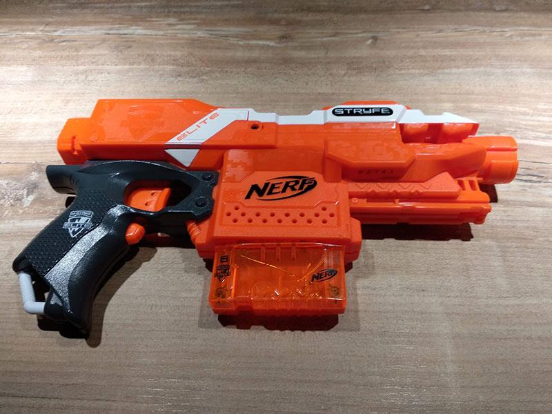 [WIP] Réalisation d'un pistolet arcade à partir d'un pistolet Nerf Img_2106