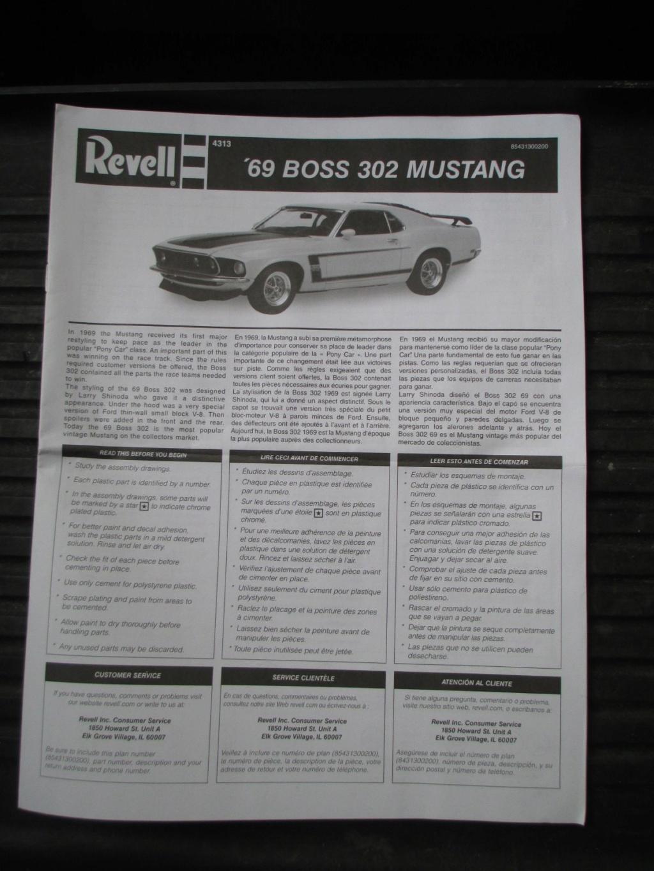Revell 1969 Mustang Boss 302 Img_5612