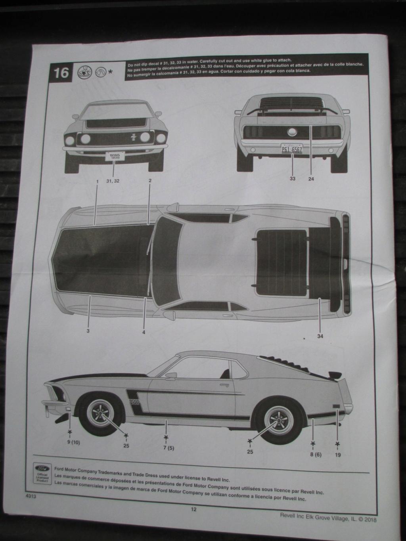 Revell 1969 Mustang Boss 302 Img_5620