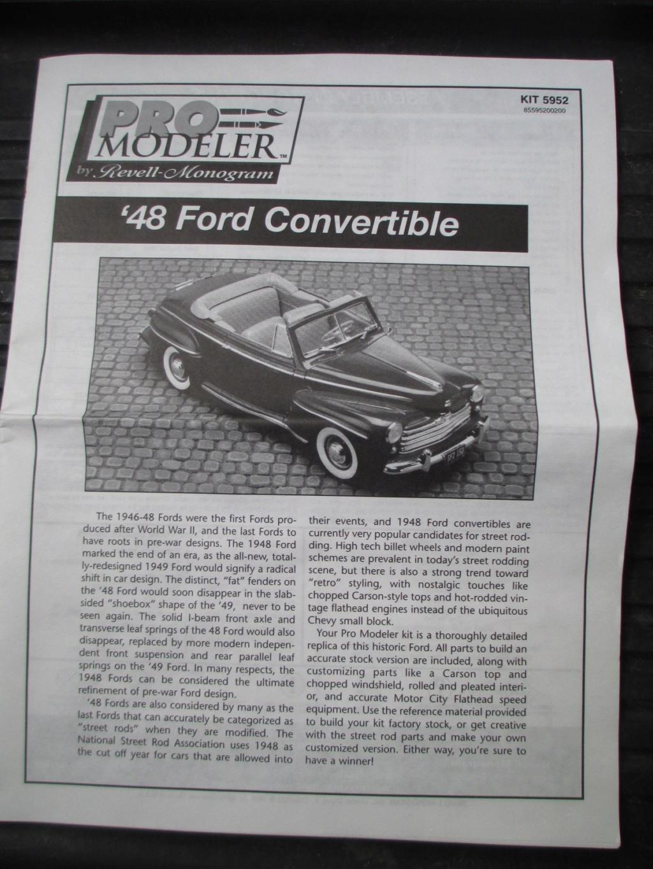 Pro Modeler 1948 Ford Convertible Img_5646