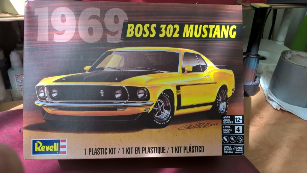Vends Revell 69 Mustang (disponible) + Monte Carlo et Buick Wp_20193