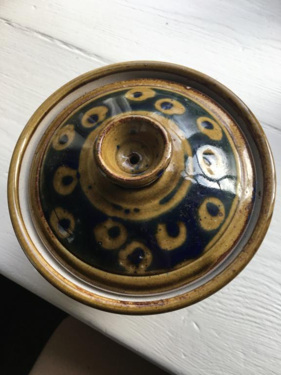 Glazed lidded pot with impressed PS mark Image21