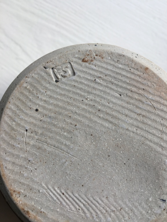 Glazed lidded pot with impressed PS mark Image22
