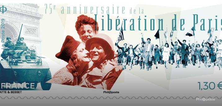 75ème anniversaire de la Libération de Paris aujourd'hui 000013