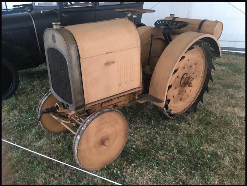 tracteur CITROËN 000113