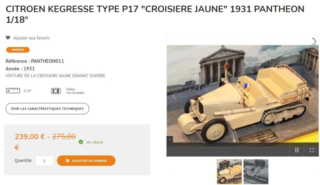 CITROËN KEGRESSE  de la Croisière Jaune 1931 au 1/18ème 000_1168