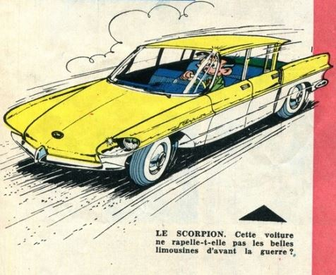 la CITROËN DS vue par BROOKS STEVENS en 1957 00_3_126