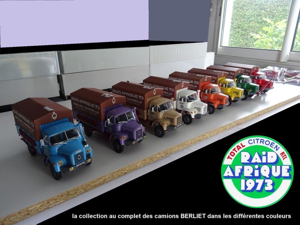 Les BERLIET et 2cv du RAID AFRIQUE 1973 0_0_021