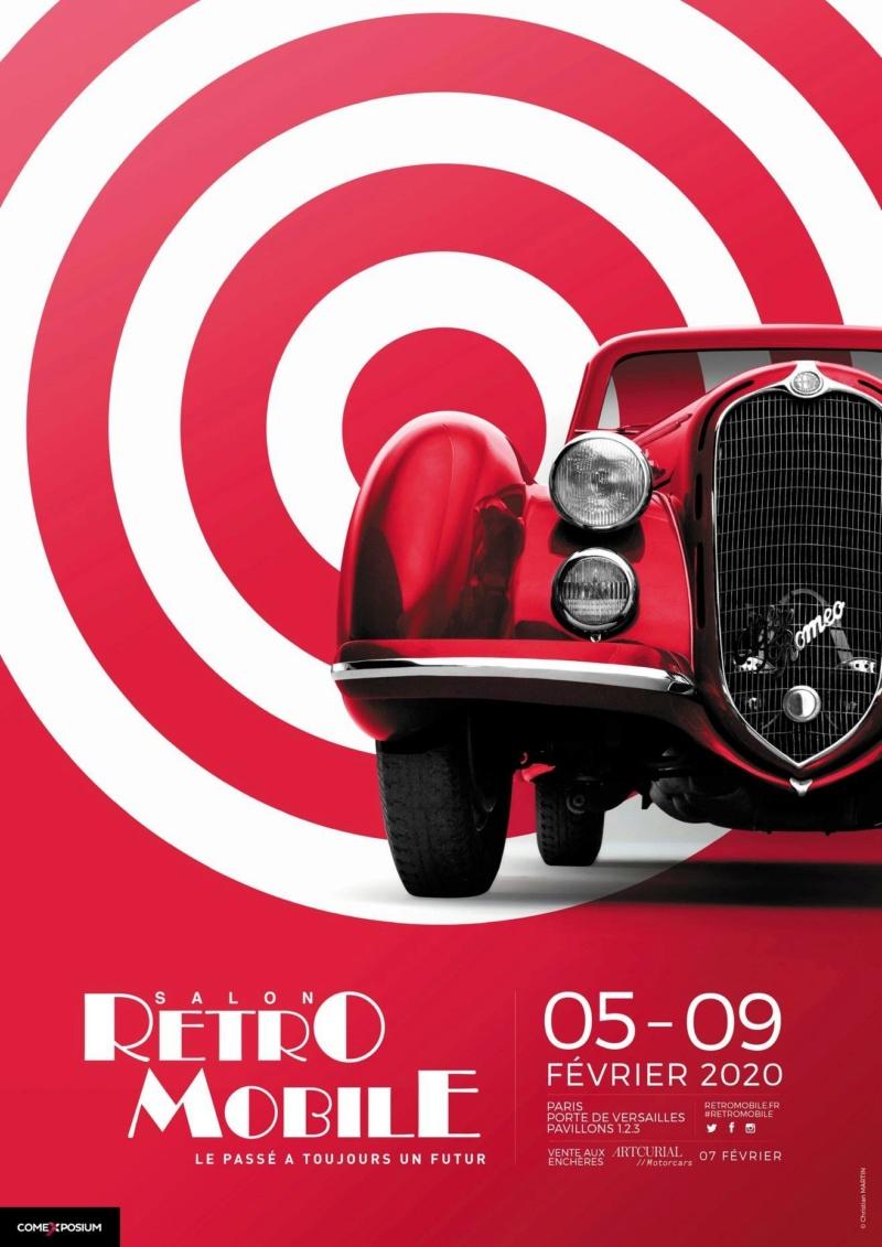 75 - PARIS Salon RETROMOBILE du 5 au 9 Février 2020 0_0_123