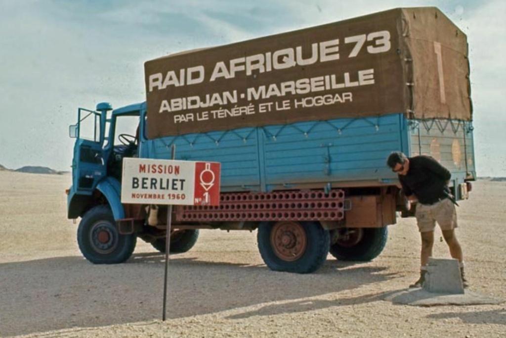 Les BERLIET et 2cv du RAID AFRIQUE 1973 0_0_3_30
