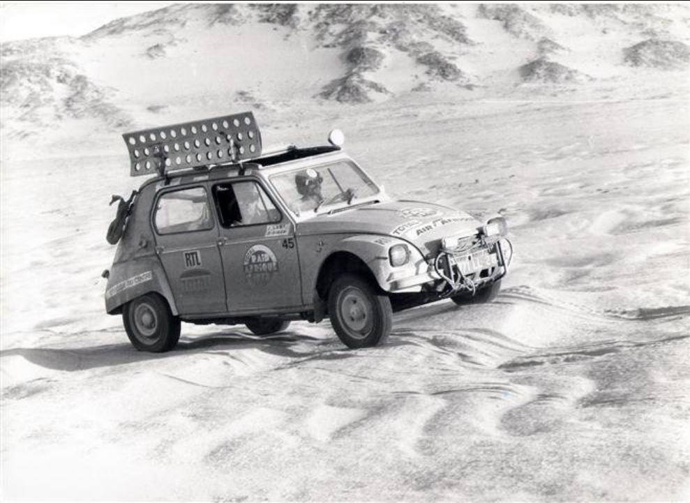 Les BERLIET et 2cv du RAID AFRIQUE 1973 0_0_3_42