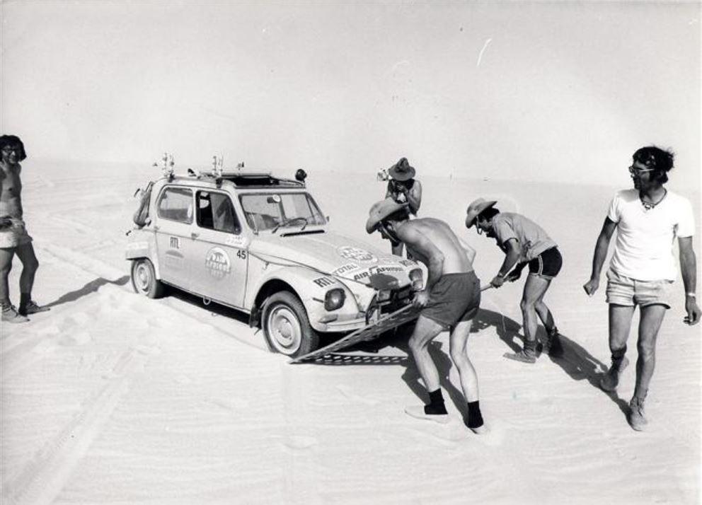 Les BERLIET et 2cv du RAID AFRIQUE 1973 0_0_3_45