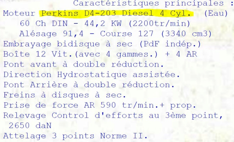RENAULT - Relance Renault CARRARO 601-4. 0_0_465