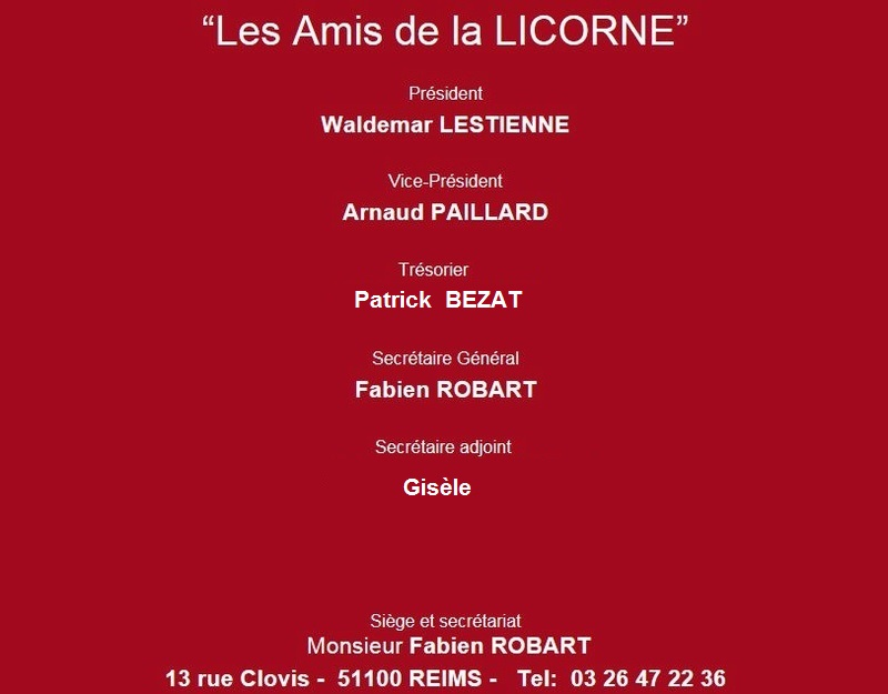 """l'Association """"les Amis de la Licorne"""" 0_1196"""