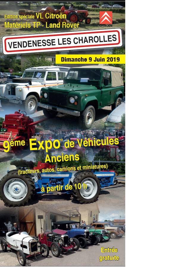 71 - Vendenesse-lès-Charolles : exposition de véhicules anciens le 9 Juin 2019 0_1465
