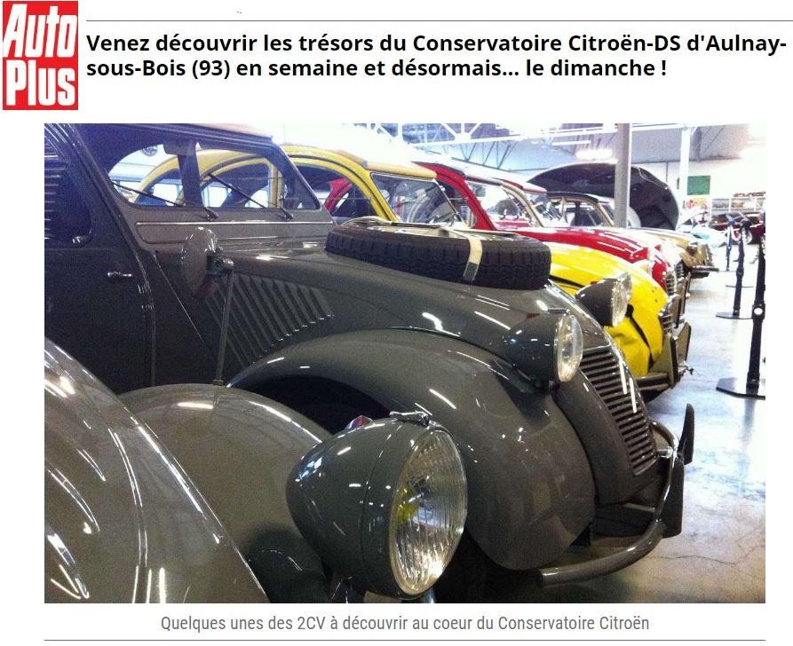 Conservatoire Citroën Aulnay, le musée de la marque aux chevrons avec Minitub43 0_477