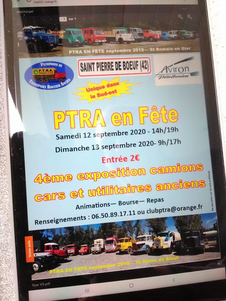 PTRA en Fêtre les 11, 12 et 13 Septembre 2020 à St Pierre de Bœuf 10327