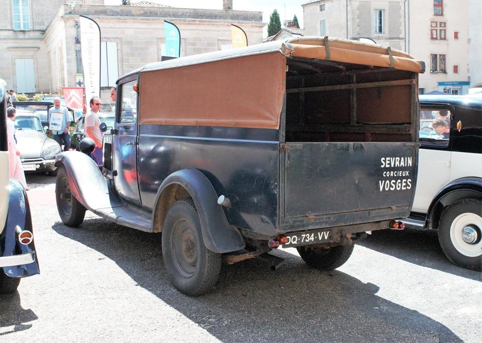 Citroën type 850 kg essence. 11081
