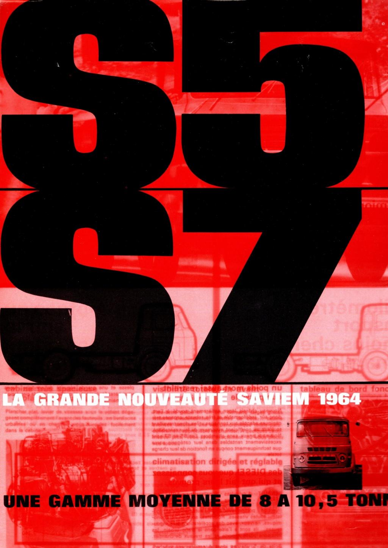 Pub et catalogues SAVIEM 11615