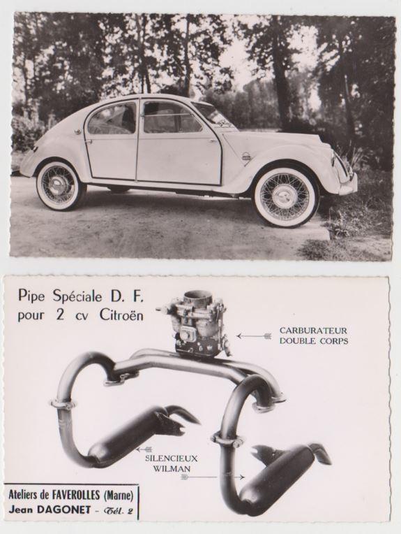 Les 2CV DAGONET 1290
