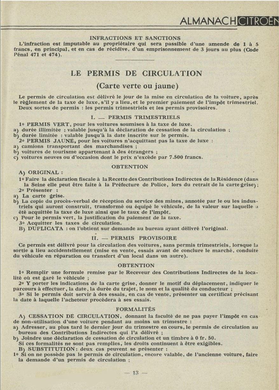 ALMANACH  CITROËN 1932 13287