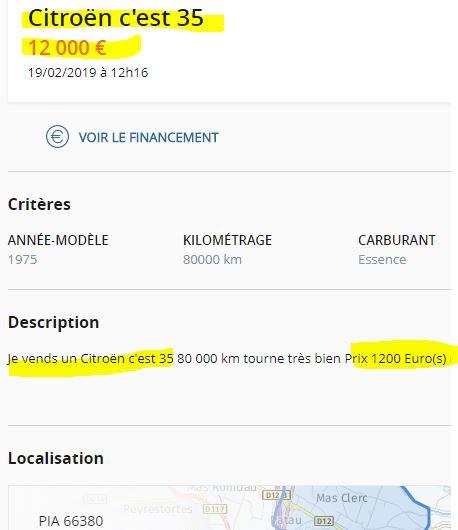 le Bon Coin 14147