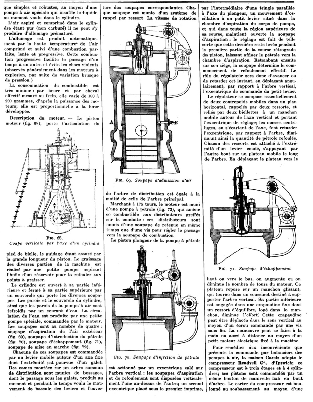 Les moteurs industriels: article de 1913 1551