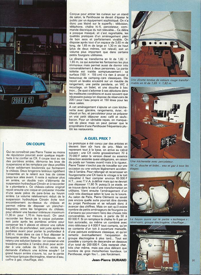 """Des Citroën hors normes : les """"Tissier"""" - Page 2 16119"""