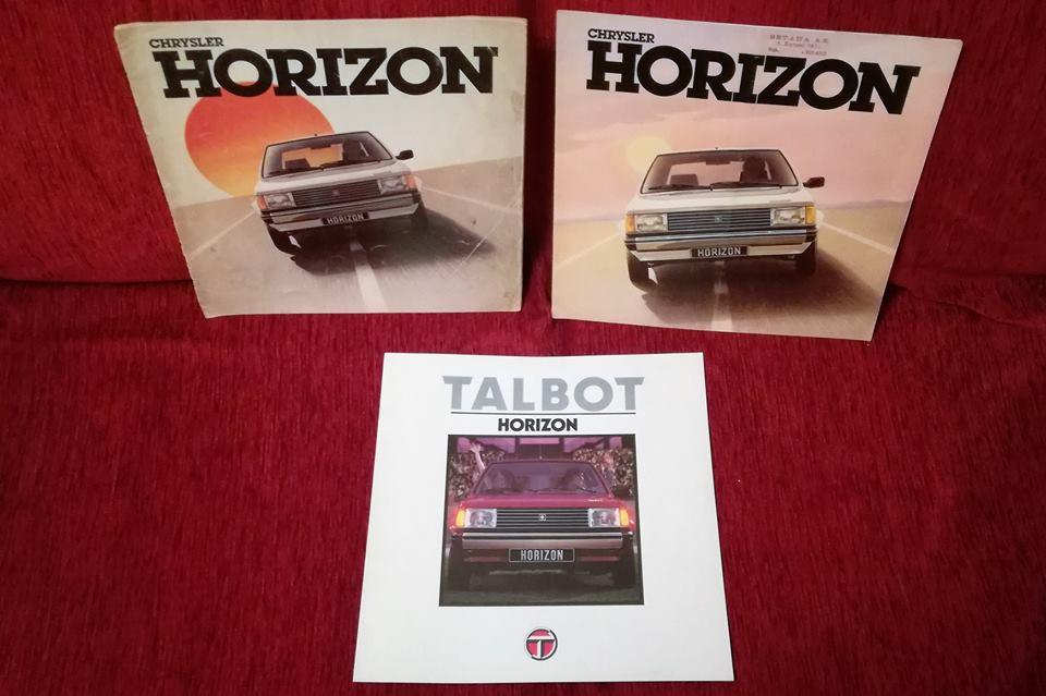 Ma nouvelle protégée : TALBOT HORIZON 16120