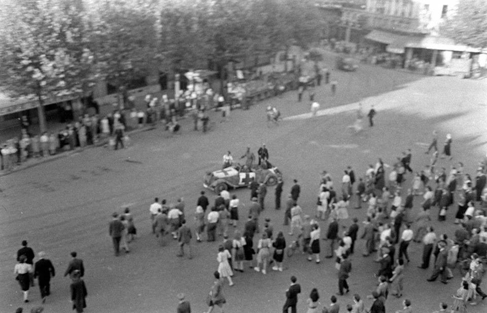 75ème anniversaire de la Libération de Paris aujourd'hui 16209